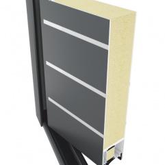 TM 77 HI  Systém hliníkových dveří
