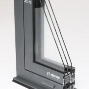 AS 75  Systém hliníkových oken