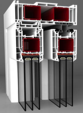 Hebeschiebetür System 85 mm Basic