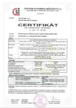Zertifikat ALU.PLAST s.r.o.