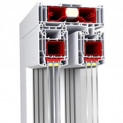 Hebeschiebetür System 85 mm