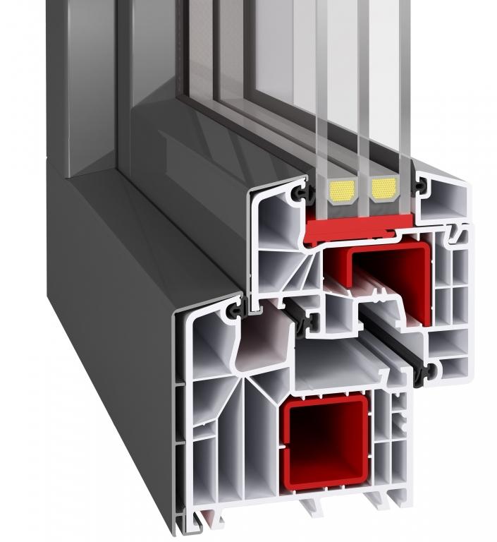 Profil aluplast ideal 8000 mit alu vorsatzschale alu for Aluplast fenster